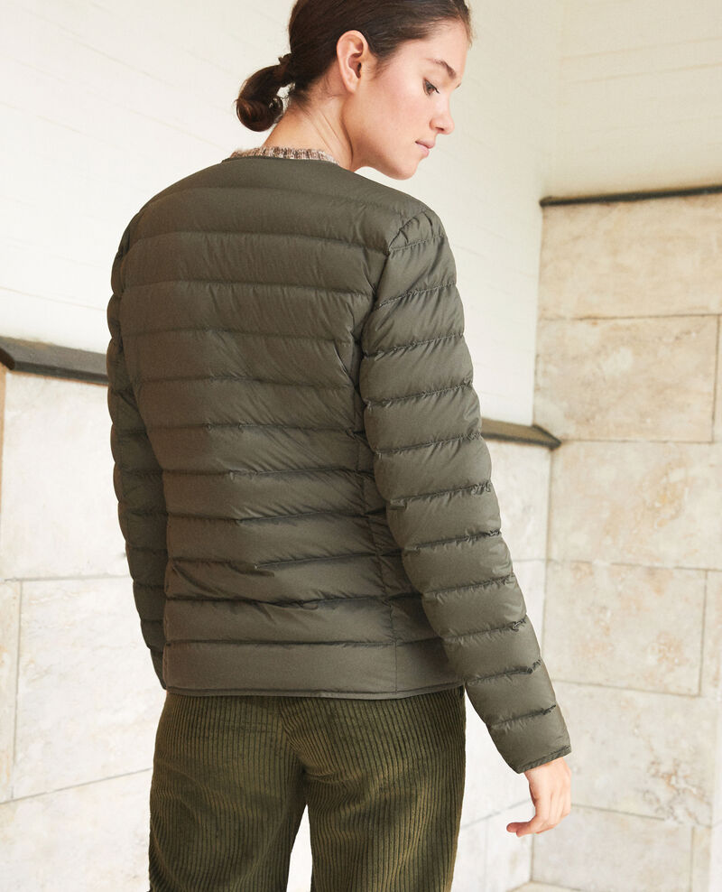 Mademoiselle Plume down jacket Olive night/noir Gallipi