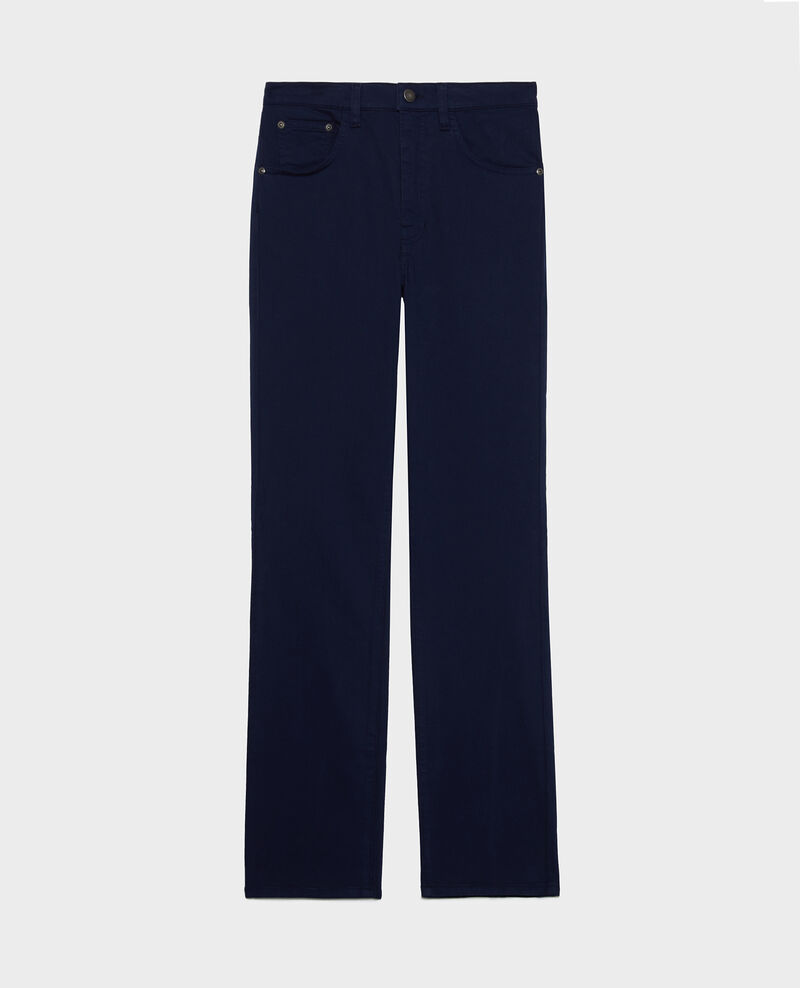SLIM STRAIGHT - Straight jeans Maritime blue Lozanne