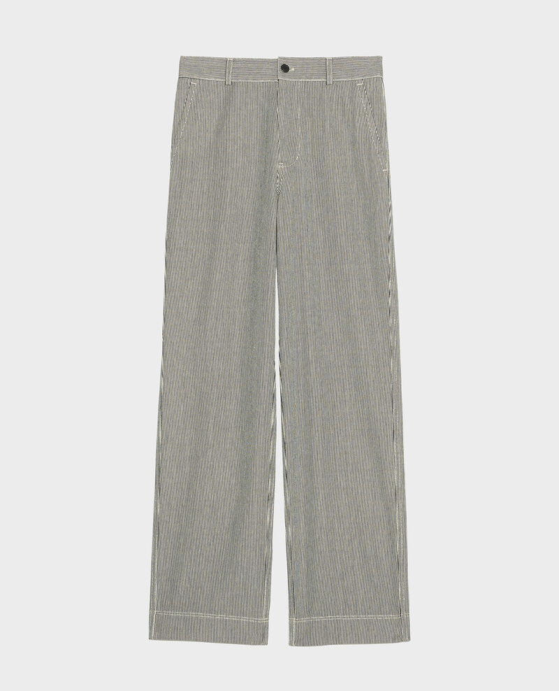 Pantalon de peintre Denim stripes Limonada