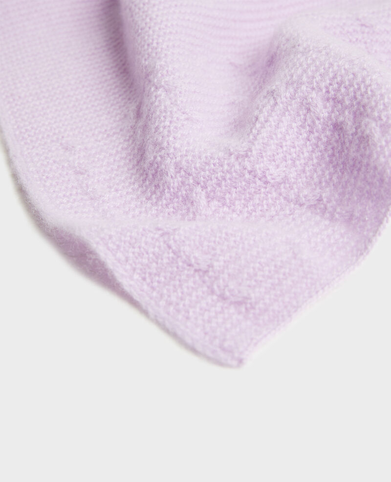 Cashmere scarf  Pastel lilac Minet