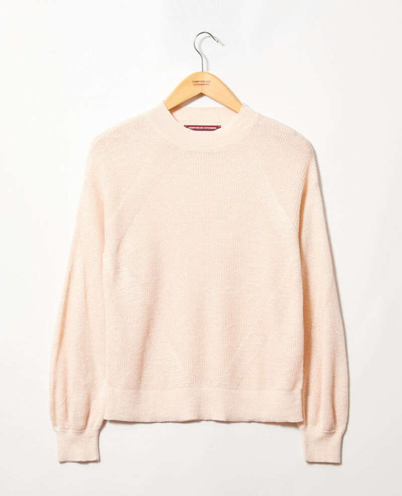 Turtleneck jumper Natural beige Icote