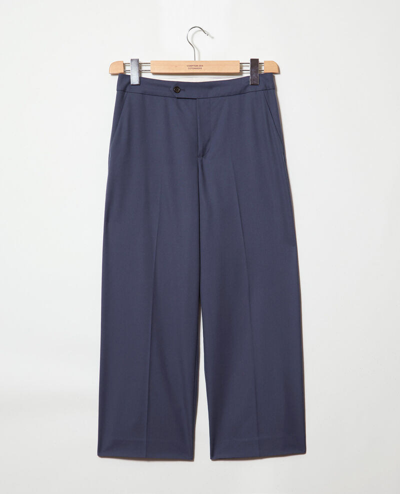 Carrot trousers Ink navy Idma