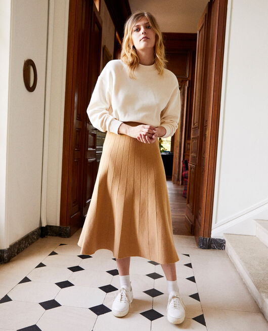Flared skirt ICED COFFEE