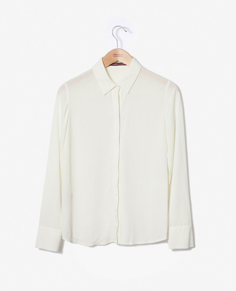 Straight-cut shirt Off white 9danimo