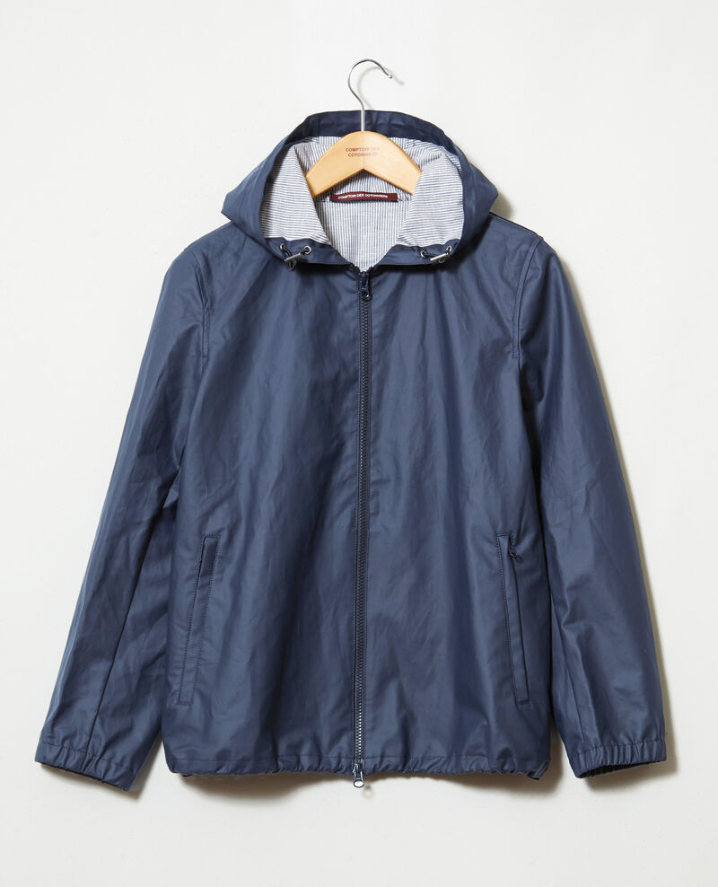 Short lightweight parka Dark navy Iberis