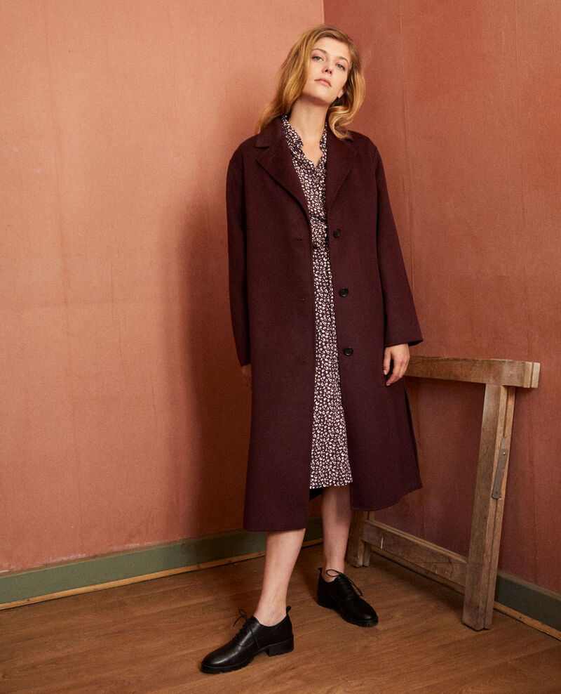 Classic double-sided coat Fudge Jacare