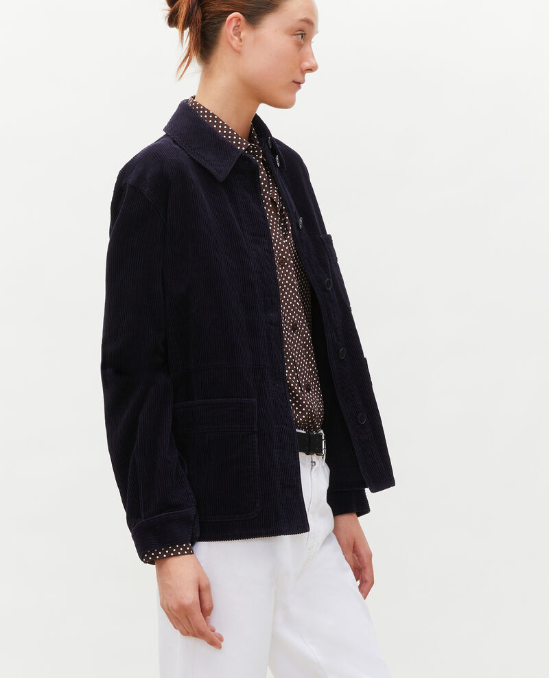 Corduroy work jacket Night sky Malipine