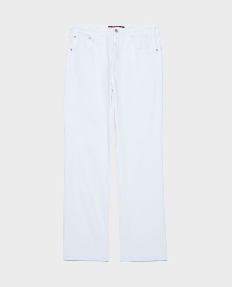 Straight jeans Optical white Linny