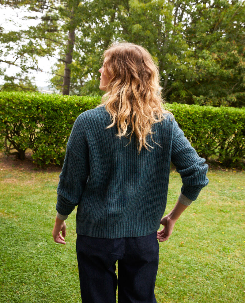 Cable-knit cardigan Scarab Joubix