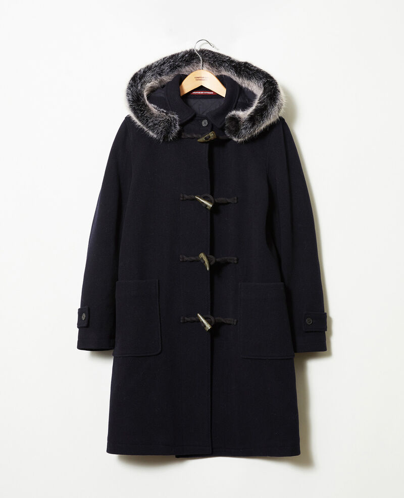 Duffle-coat-type coat Dark navy Juffle