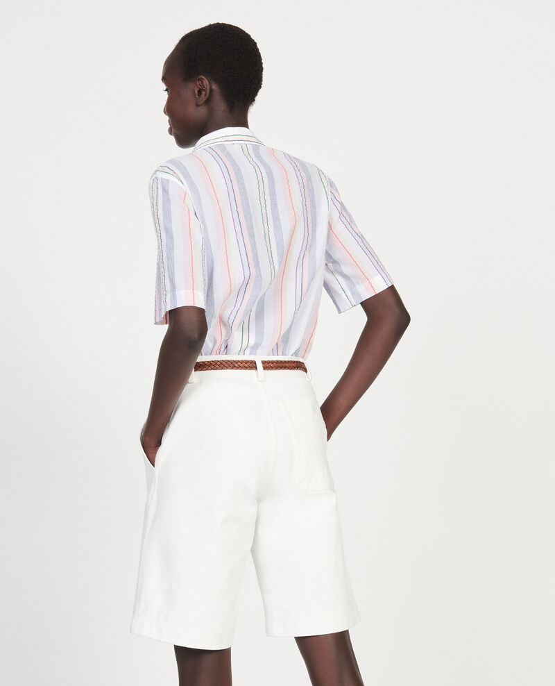 Cotton shirt Stripes multico Lehavre
