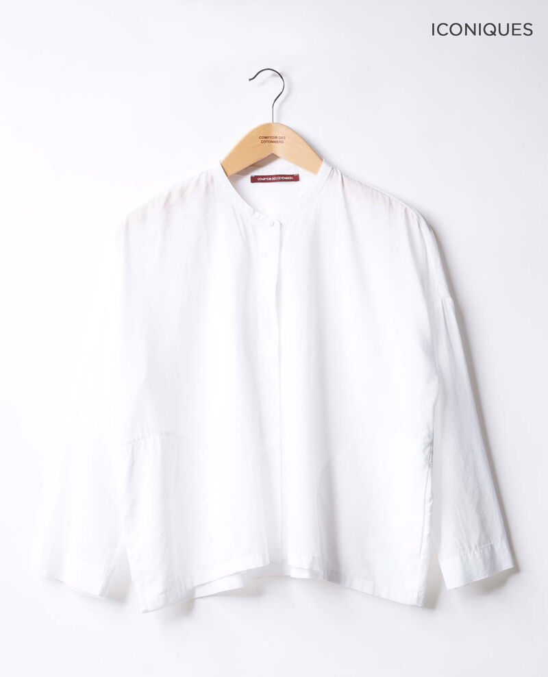 Loose fit blouse Blanc Ferrier