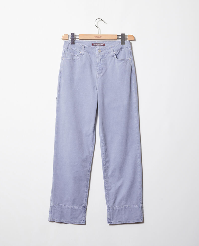 Straight jeans Ribbon blue Irtenga