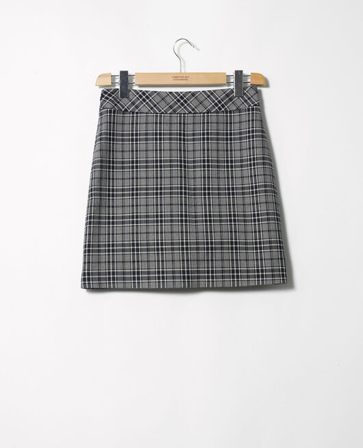 Straight skirt PRINCE DE GALLES
