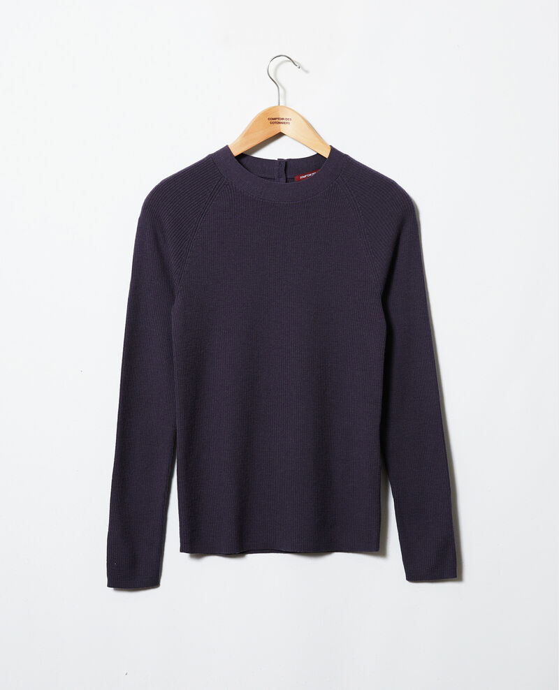 Jumper with buttons on the back Odyssey gray Jemossa