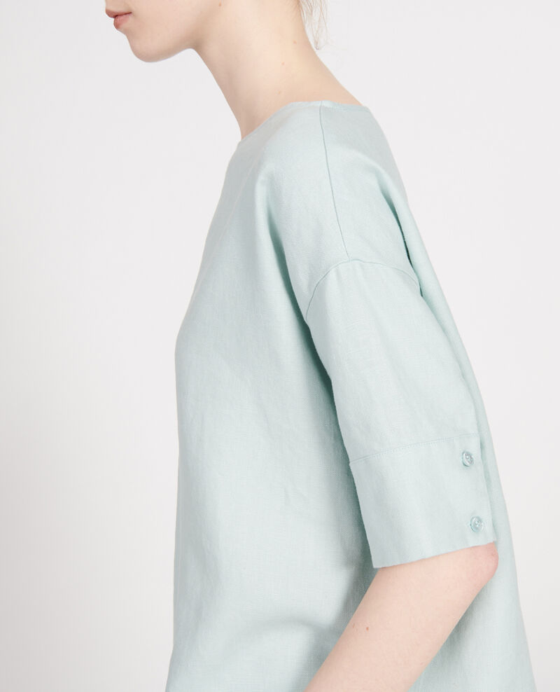 Linen blouse Blue haze Lordat