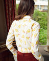 Printed shirt Tulip buttercream Jindia
