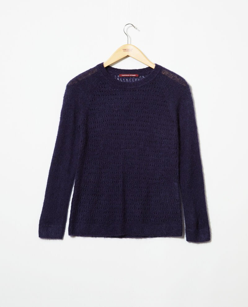 Novelty knit jumper  Ink navy Iceo