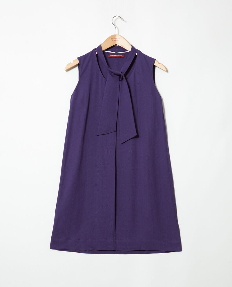 Dress with removable tie Ink navy Iolandi