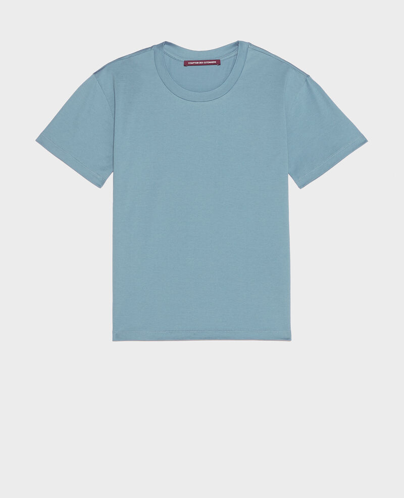 Classic cotton t-shirt Bluestone Lirous