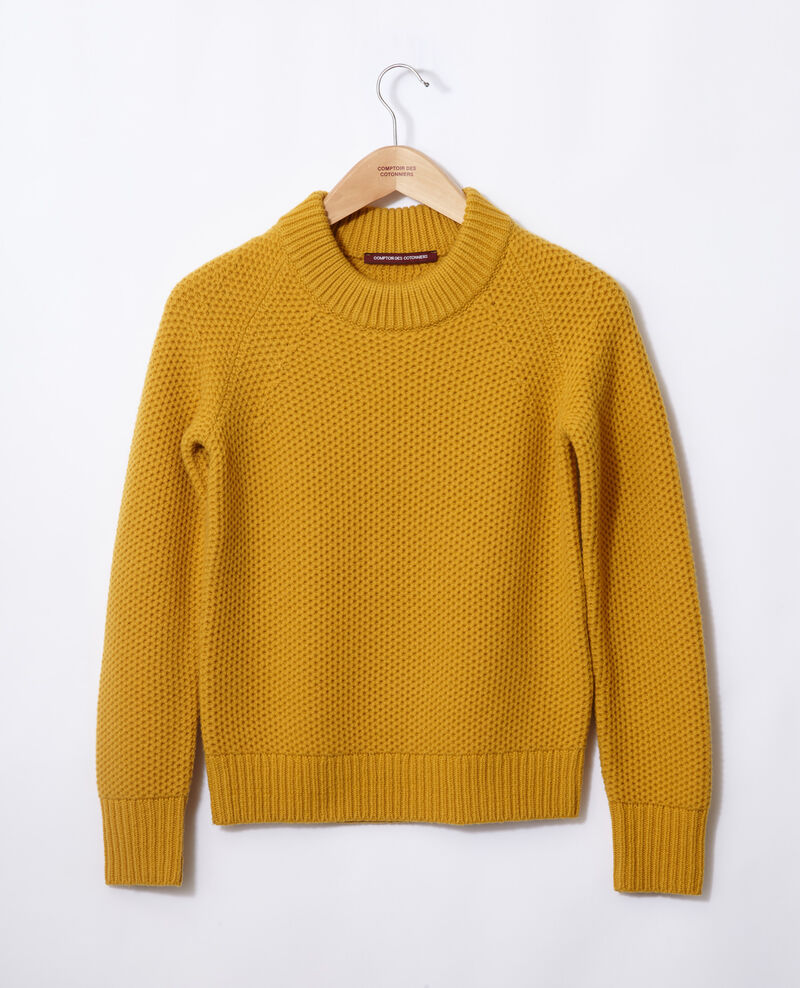 Wool jumper Golden spice Ginseng