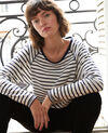 Striped T-shirt White Gainde