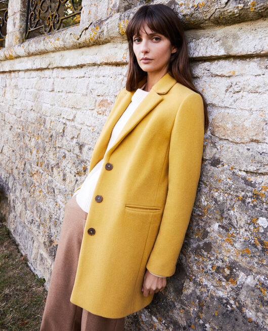 Coat with lapels SAUTERNE