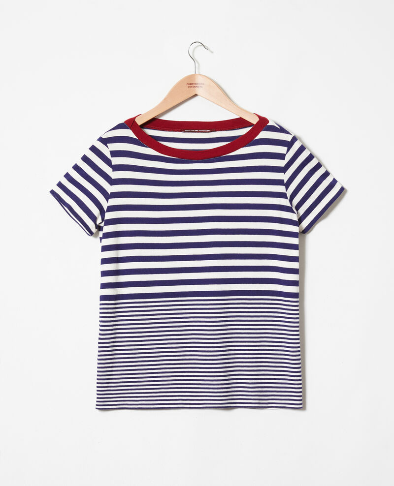 Striped T-shirt Butter/evening Joxy