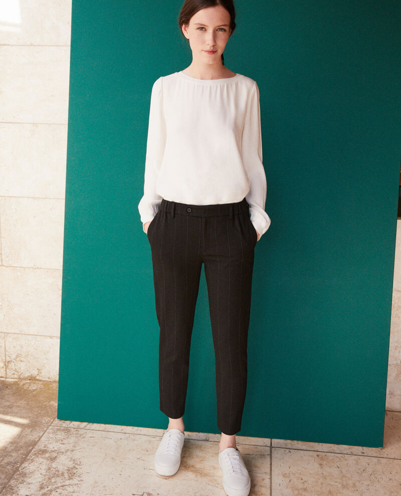 Carrot trousers Black Galetta