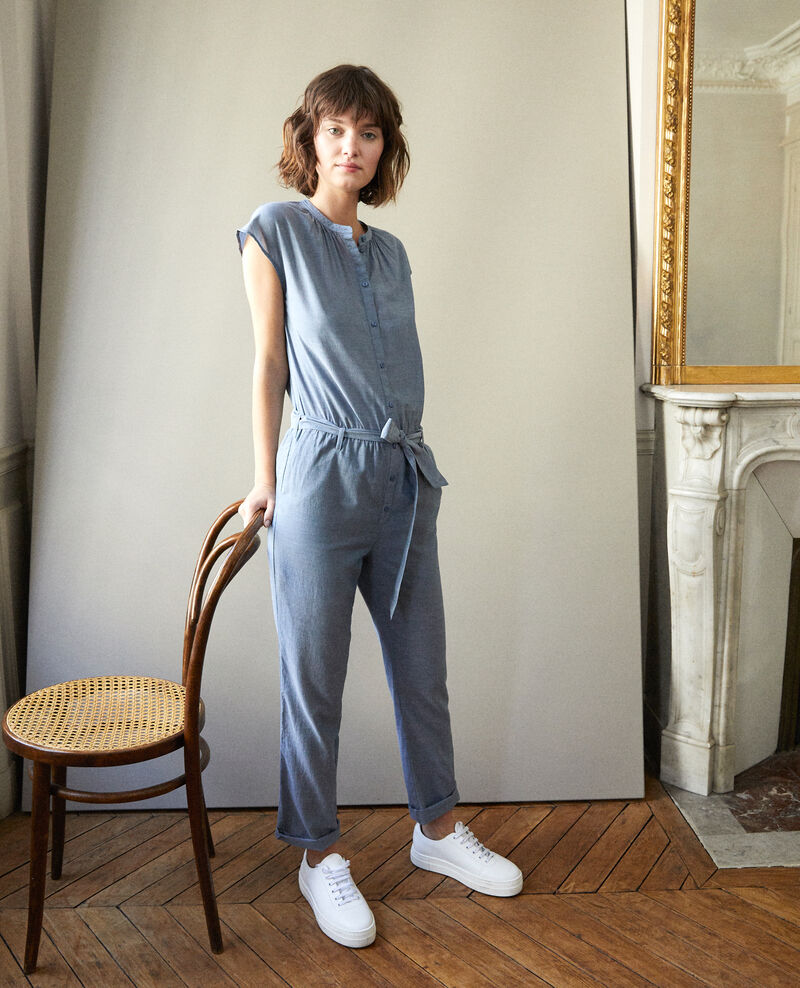 Jumpsuit Blue Garrigue