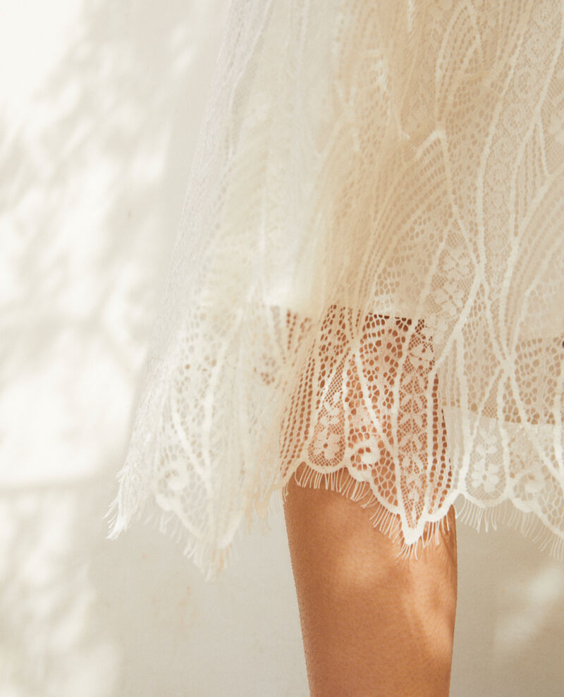 Lace dress Off white Idris