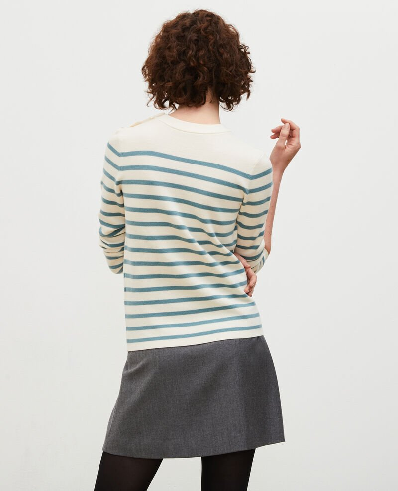 Striped wool jumper Str_jetstr_trs Liselle