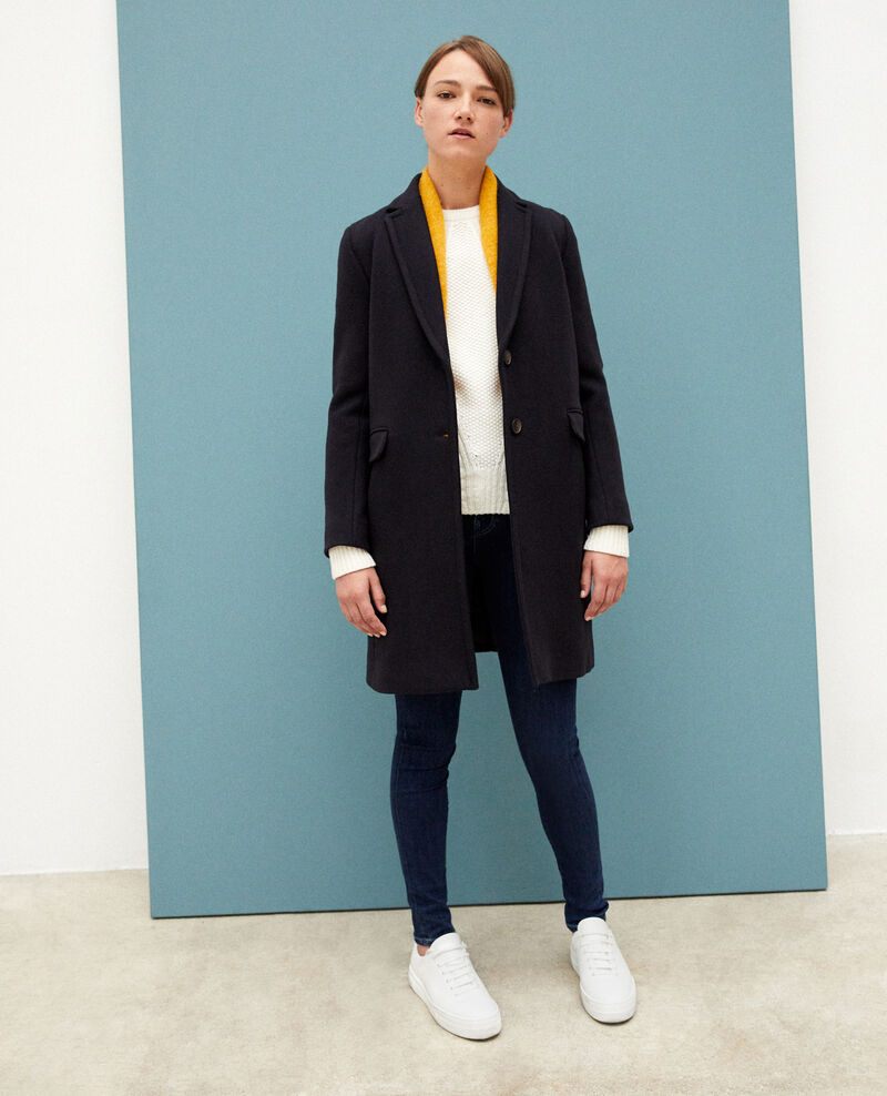 Timeless coat Dark navy Gitchi