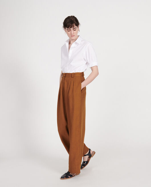 Linen trousers MONKS ROBE