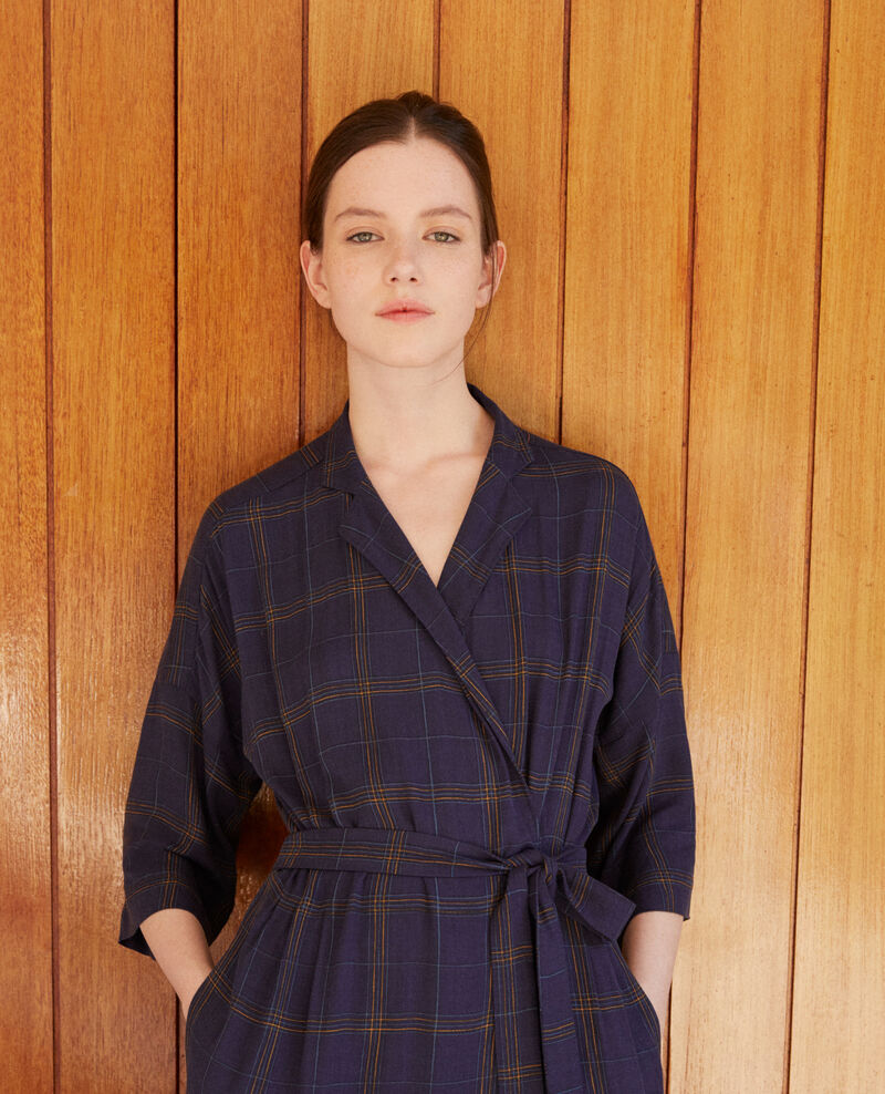 Wrap dress Blue Guicharde