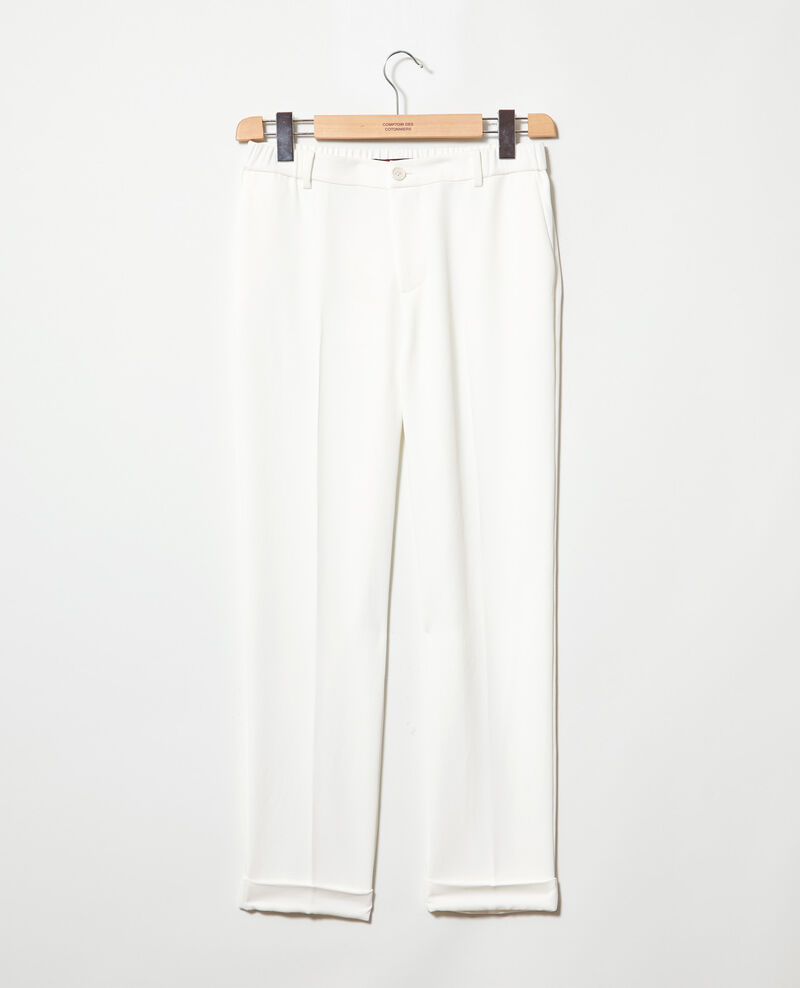 Carrot trousers Off white Iouioui