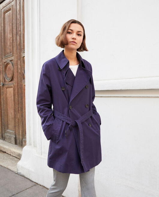 Timeless trench coat INK NAVY