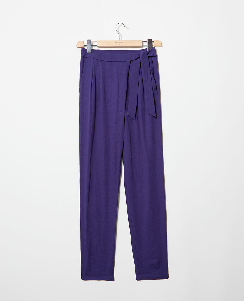 Harem-style pants  Evening blue Inoise