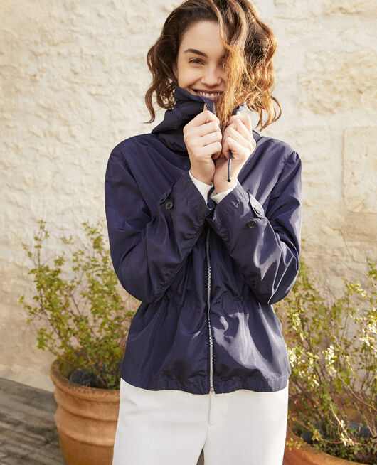 Short lightweight parka INK NAVY