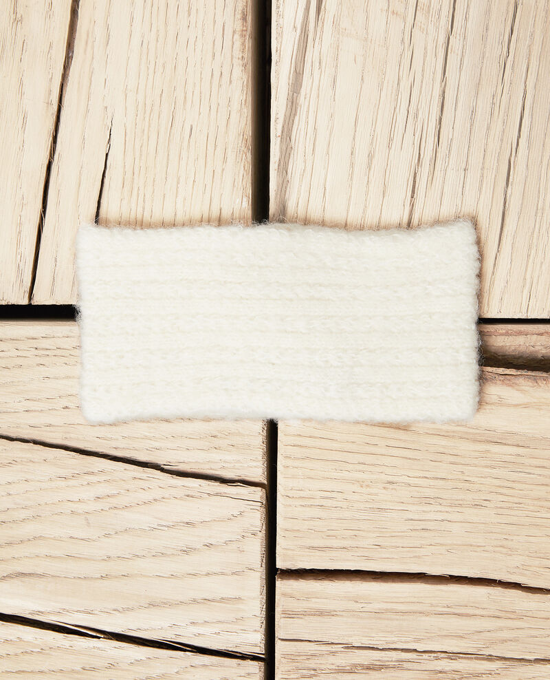 Knitted headband Off white Jihead