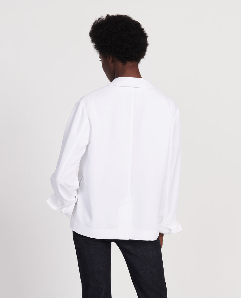 Tuxedo-style jacket Optical white Levibal