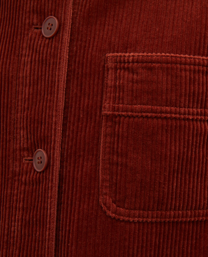 Corduroy work jacket Brandy brown Malipine