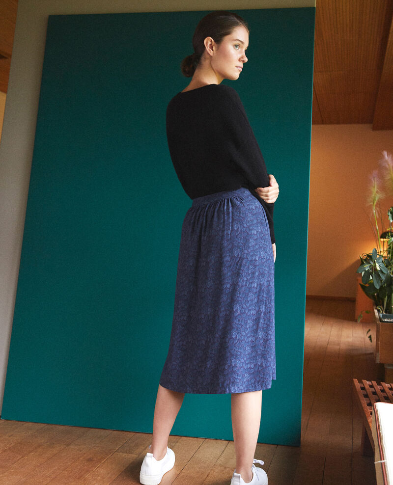 Printed skirt Blue Gidre