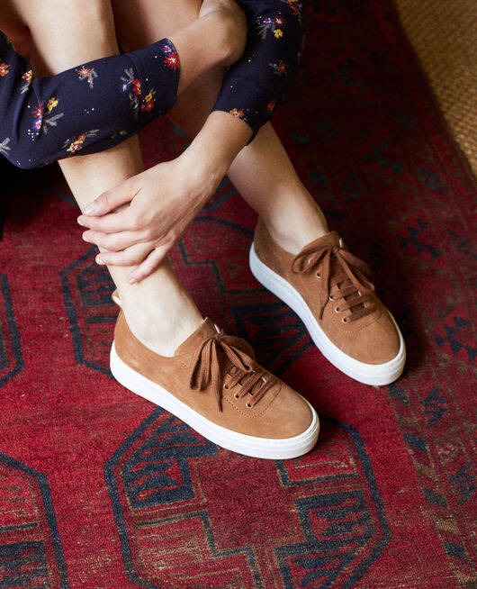 Platform sneakers  CAMEL