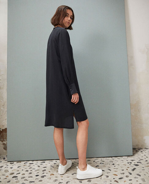 Comptoir des Cotonniers - Silk dress with yoke - 3