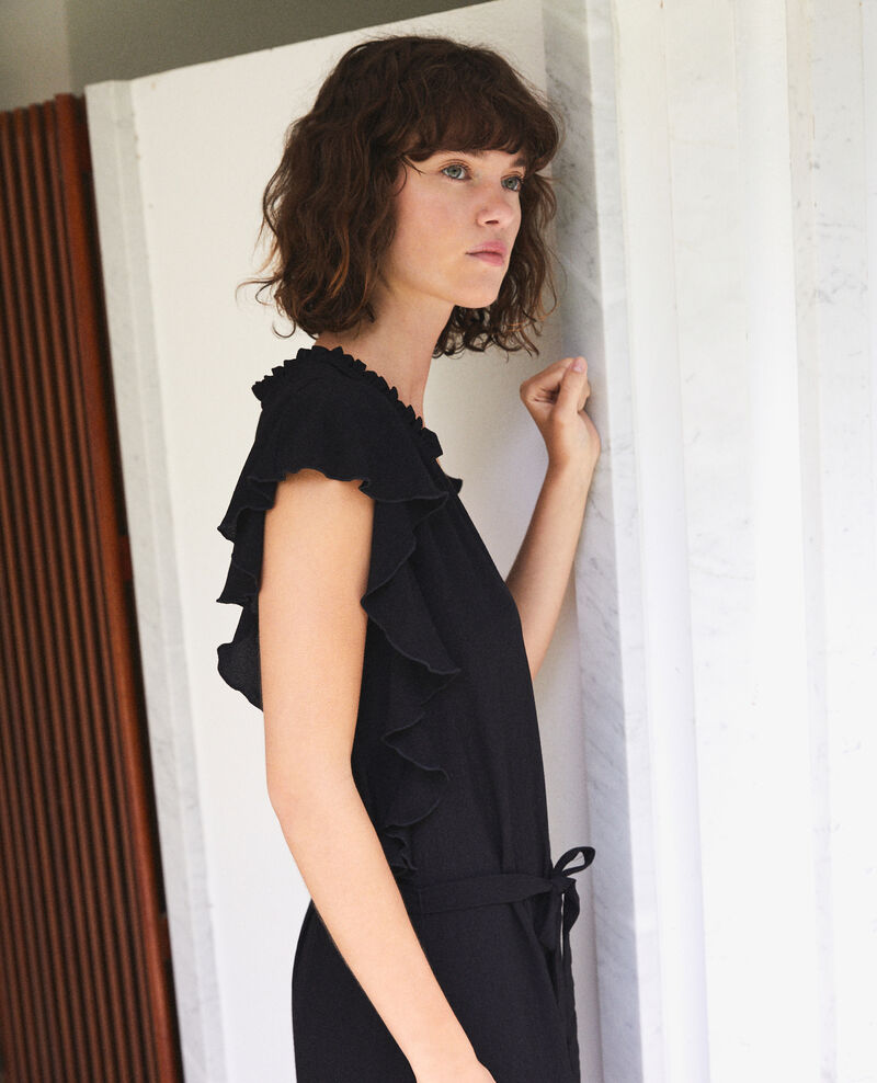 Frilly dress Black Fretiller