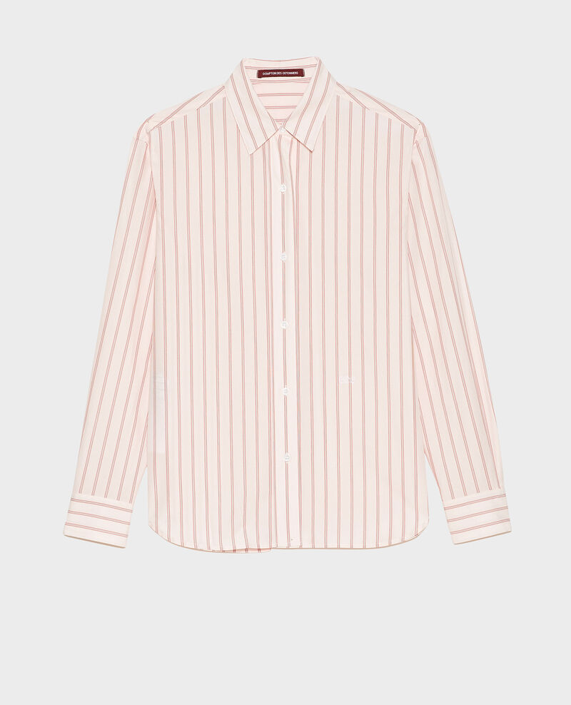 Cotton boyfriend shirt Popeline stripe3 Labilo