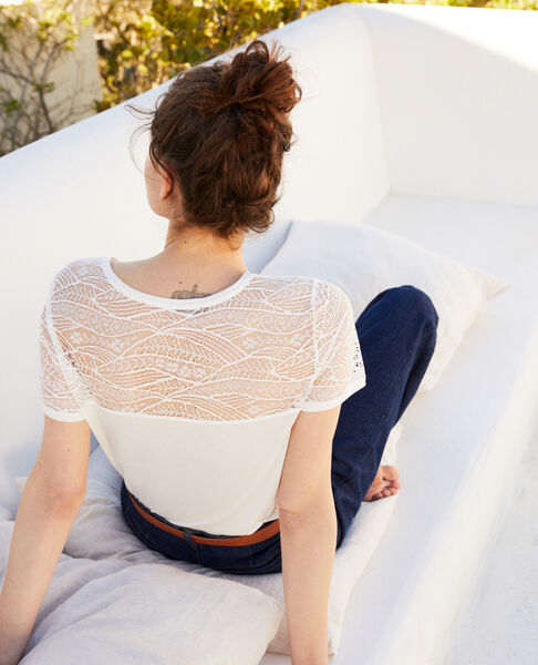 Comptoir des Cotonniers - T-shirt with lace - 3