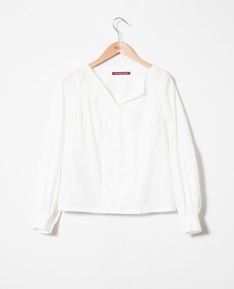 Henley blouse Coconut milk Jaillou