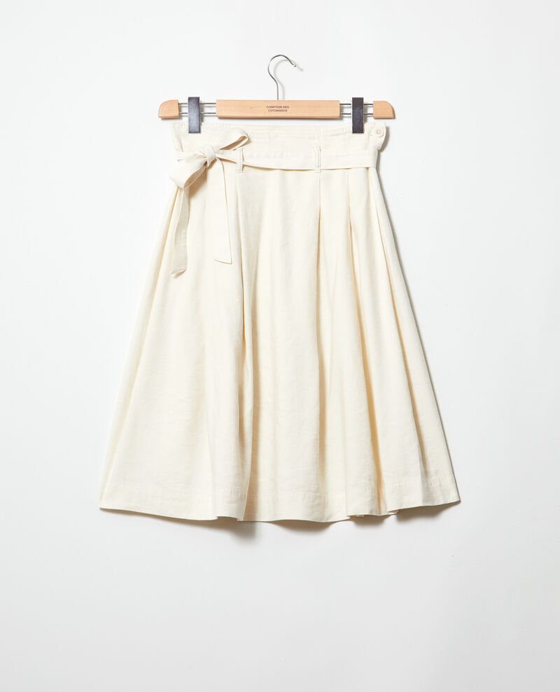 Midi skirt Off white Ivinea